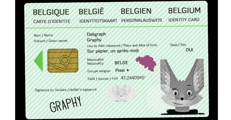 Graphy, la mascotte de Deligraph