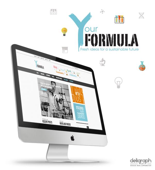 Site web de Your Formula créé par Deligraph : Agence web à Bruxelles