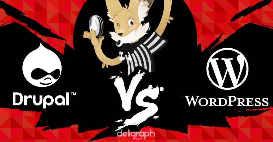 WordPress Vs Drupal... notre avis et celui de nos lecteurs !