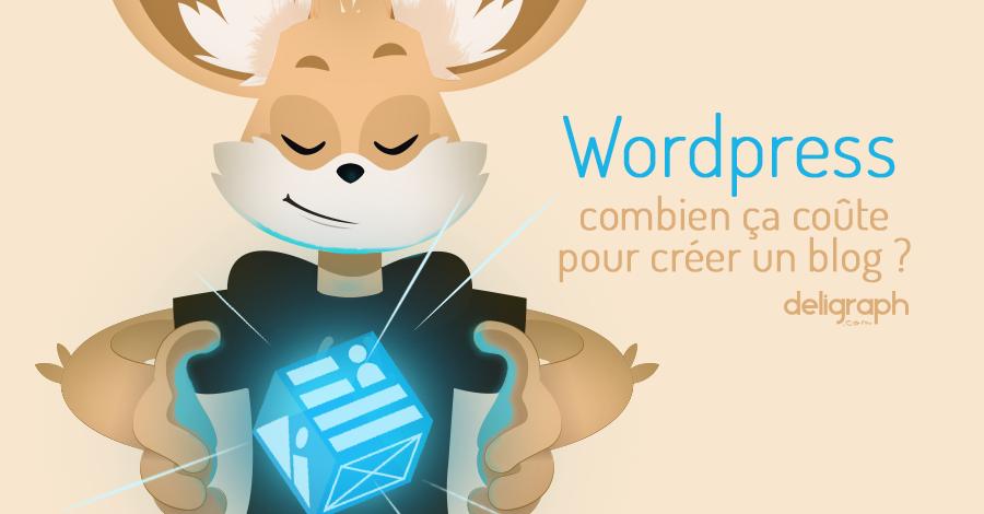 Blog WordPress : combien ça coûte ?