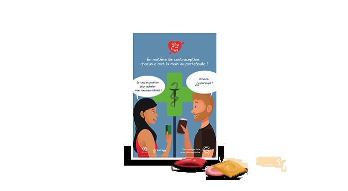 Studio graphique : illustration et création graphique d'affiches - Illu preservatif