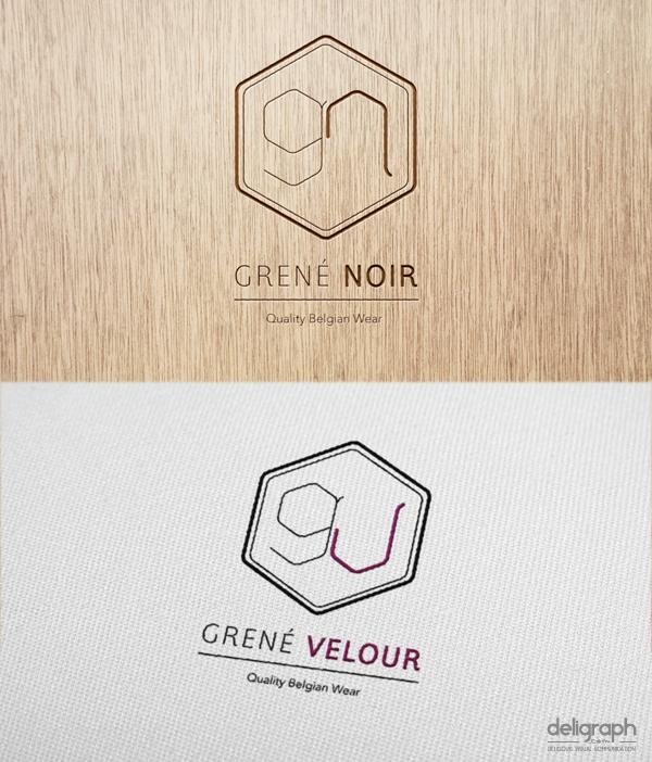 Création logo et identité visuelle : Grené Noir