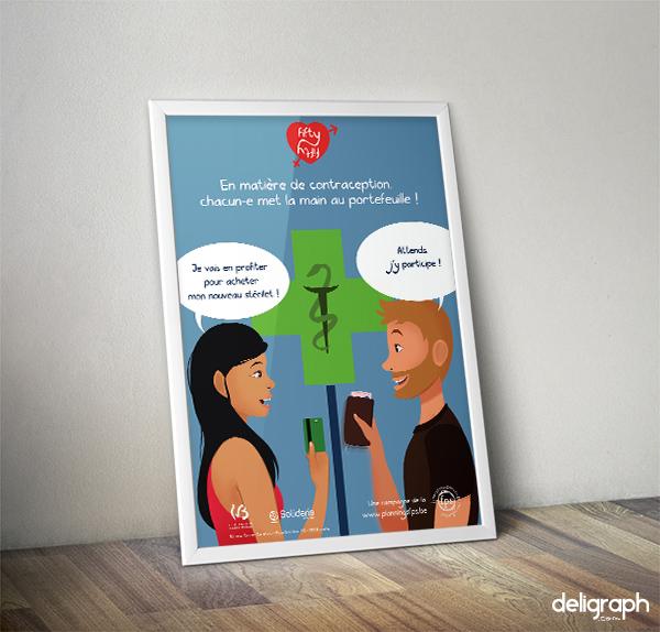 Studio Graphique : Illustration d'une affiche de campagne