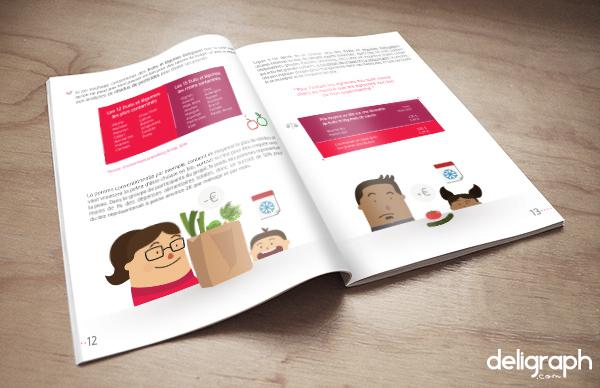 Studio Graphique : Mise en page et illustration d'une brochure