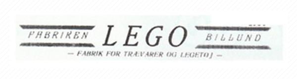 Logo de Lego en 1936