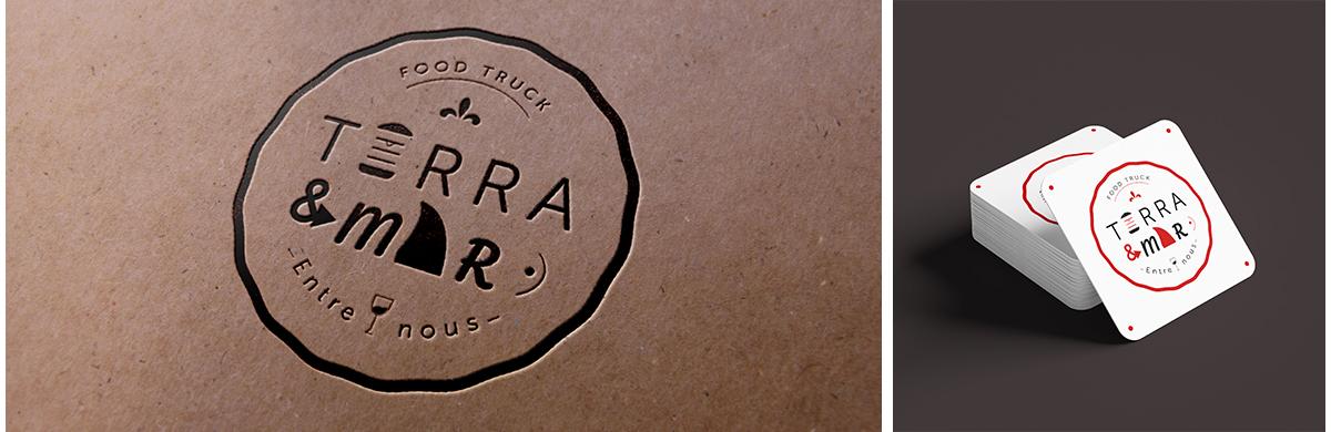 Création d'un logo pour un food truck