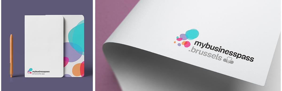 Création du logo de mybusinesspass.brussels