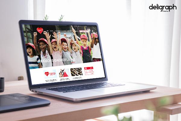 Création du site web Télévie
