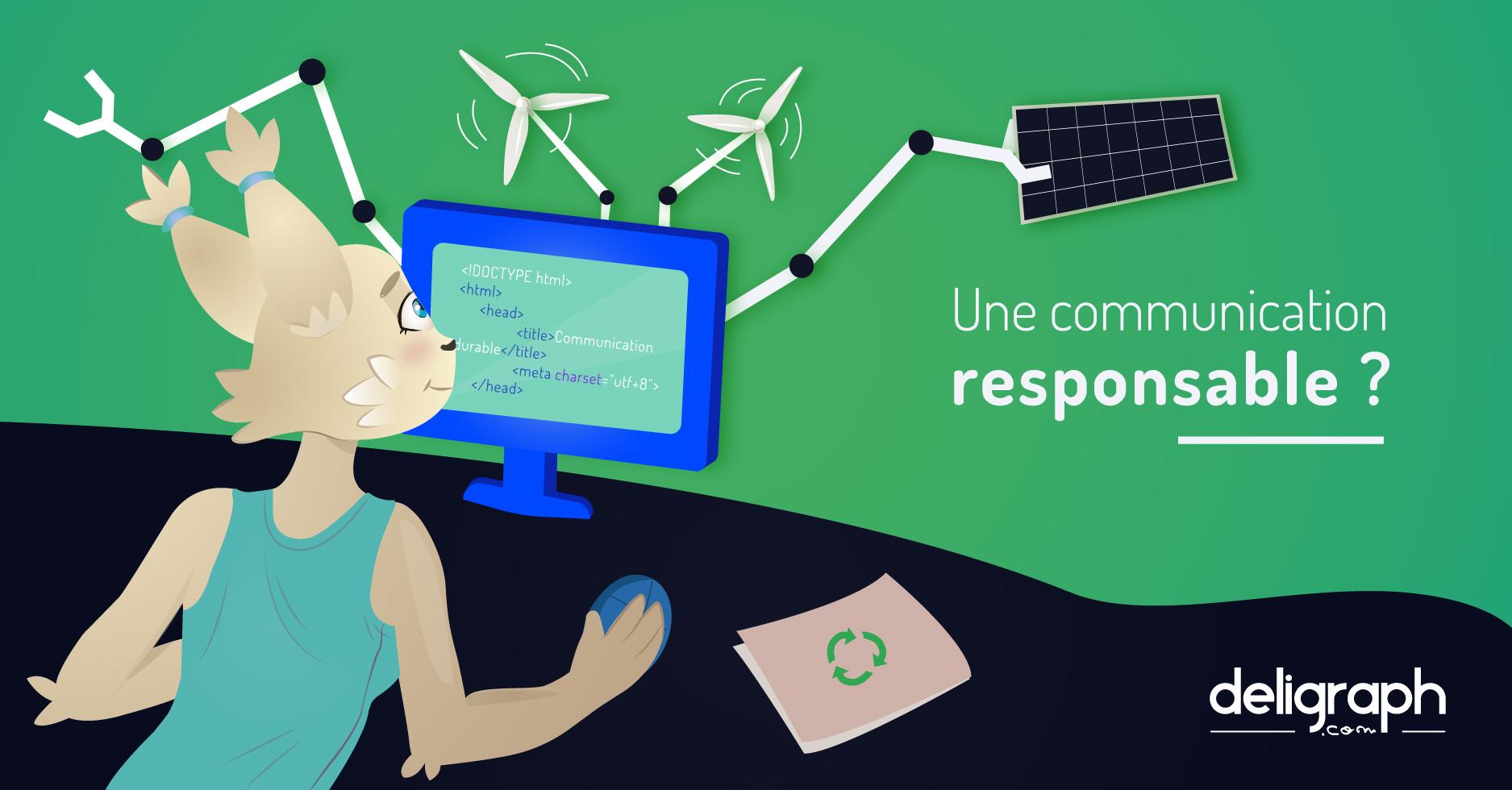 Une communication responsable et durable est-elle possible ? - Lien vers l'article