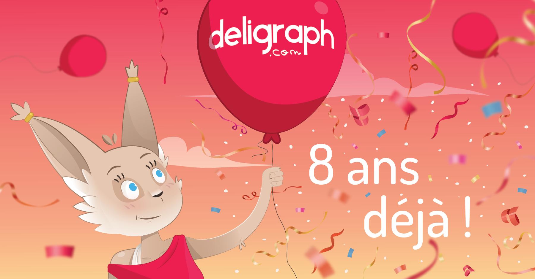 Deligraph, 8 ans déjà et pleins de projets pour demain !