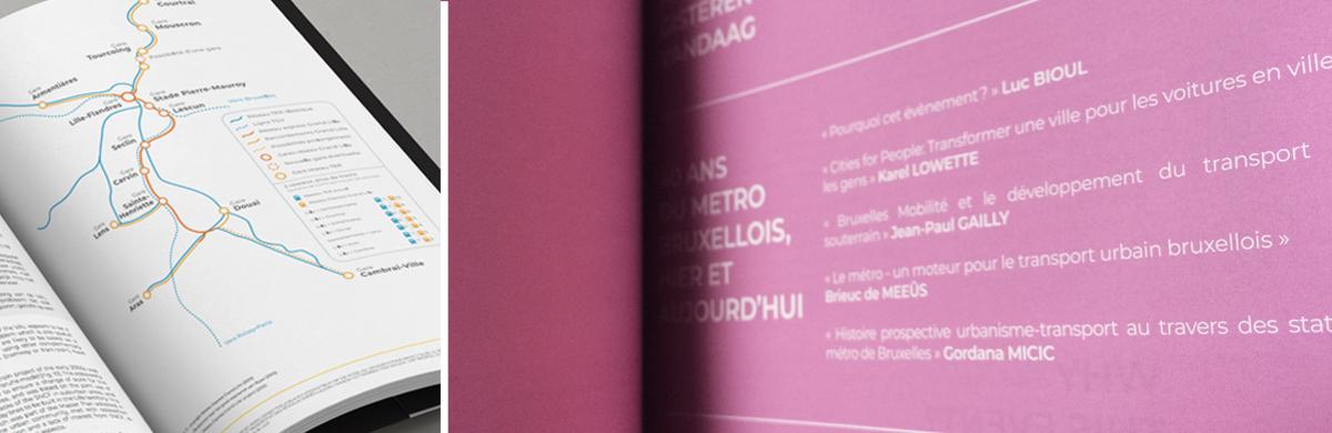 Mise ne page des actes du colloque 40 ans du Métro Bruxellois