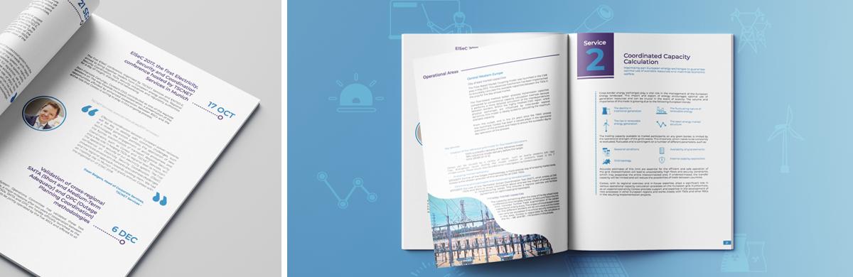 Mise en page d'un rapport d'activité institutionnel