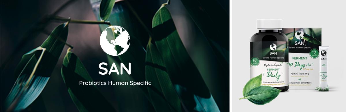 Creation Identitée San Probiotics Human Specific