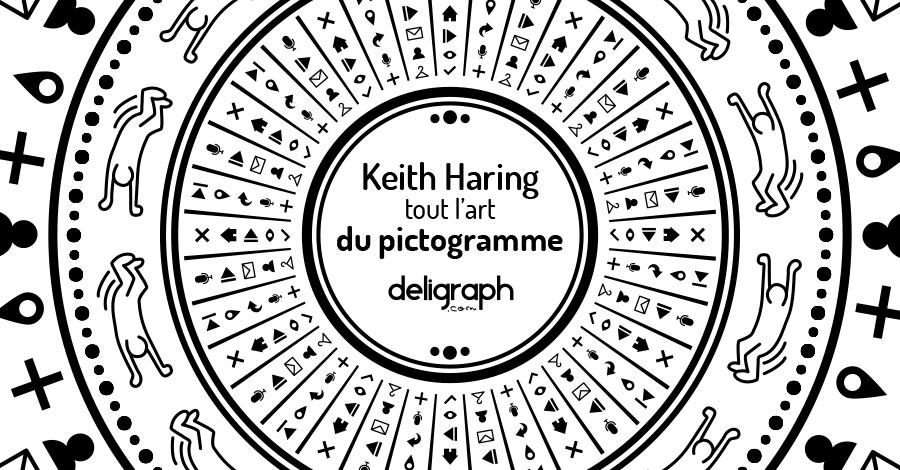 L'art du pictogramme et Keith Haring, des petits dessins qui en disent long