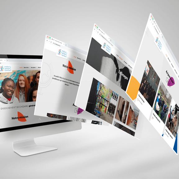 Création site internet d'une école - agence web Bruxelles & Liège