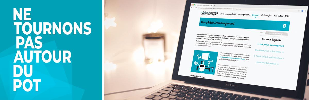 Création site internet d'un projet santé et hygiène - agence web