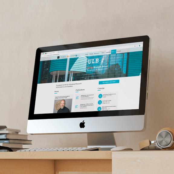 Création site internet d'une université - agence de communication visuelle