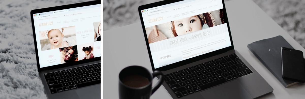 Création du site web d'une crèche - agence web