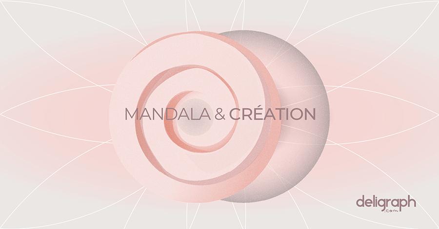 La force créatrice du mandala - studio graphique