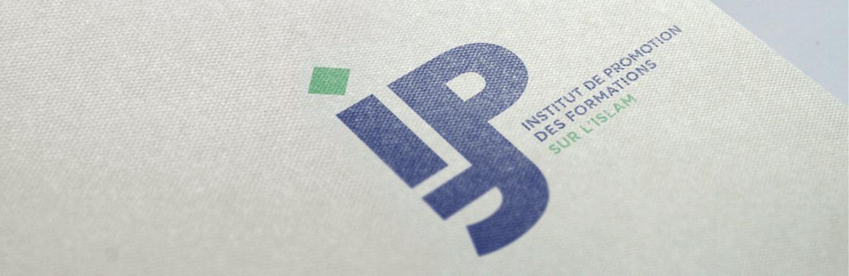 Création du logo et de l'identité visuelle d'un institut de promotion de formations - studio graphique
