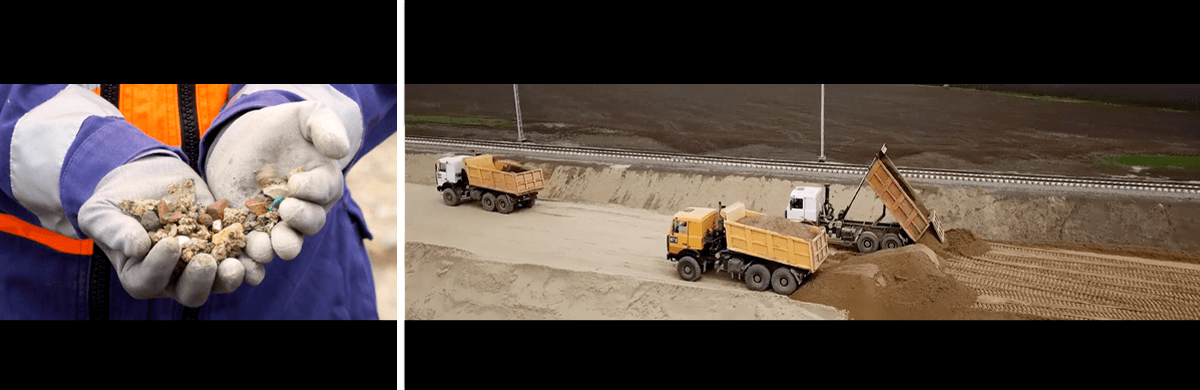 Tournage, montage et animation pour un projet de reconditionnement des déchets minéraux de chantiers - production audiovisuelle