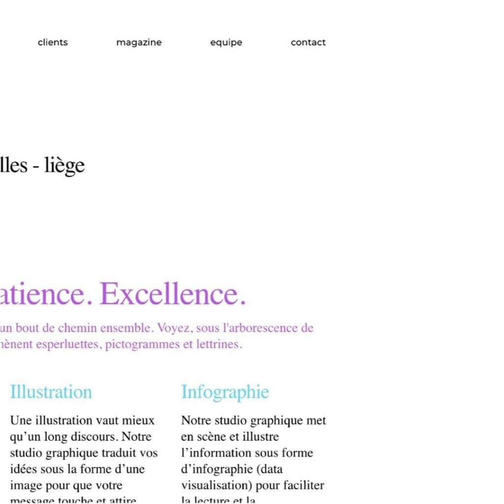 Annonce du nouveau site de notre agence de communication visuelle