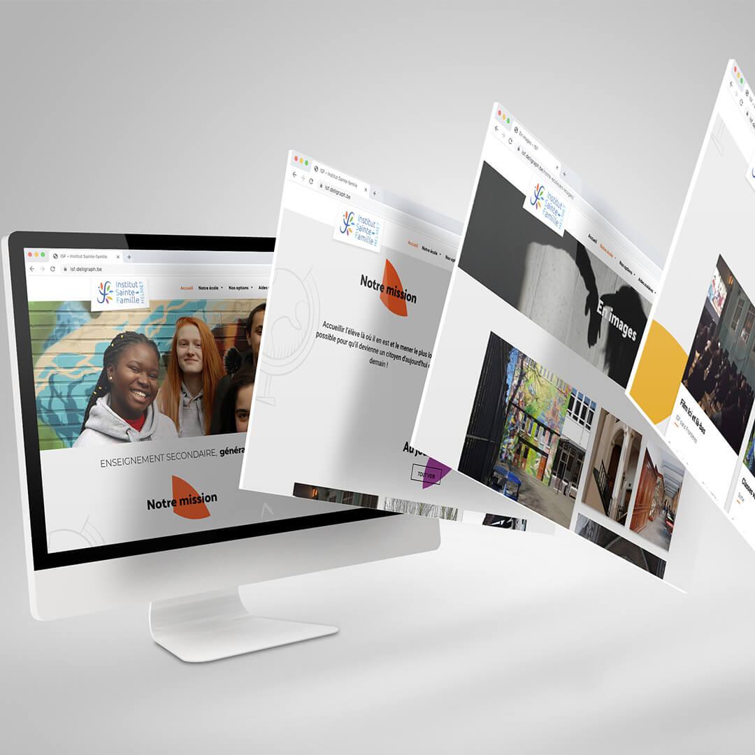 Agence web à Bruxelles et Liège : création du site internet d'une école