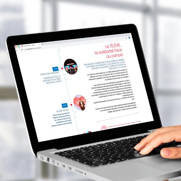 Agence web Bruxelles & Liège : création d'un site internet pour une association caritative